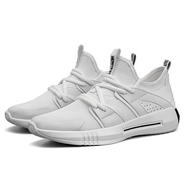 נעליים רשת אביב קיץ נוחות נעלי ספורט ל קזו'אל בָּחוּץ לבן שחור אדום