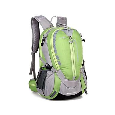 25 L תיקי גב / תיקי גב לטיולי יום / תרמיל - Back Country, Mountaineering, נסיעות מחנאות וטיולים, צעידה, פעילות חוץ ניילון כתום, צהוב, ירוק