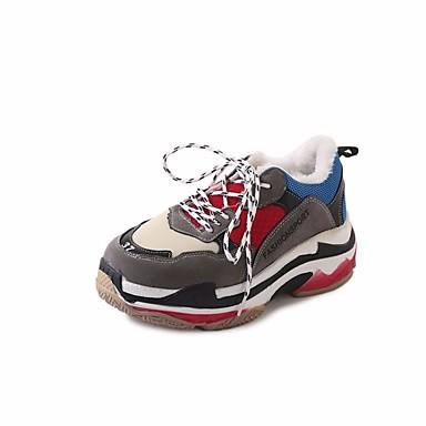 Hauteur Bout de Blanc 06533175 semelle Chaussures compensée Rouge w0qg4C
