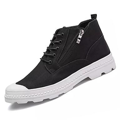 בגדי ריקוד גברים PU סתיו נוחות נעלי ספורט שחור