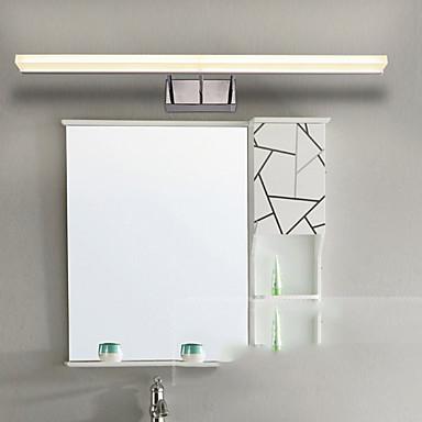 מגן עין פשוט מנורות קיר מקלחת מתכת אור קיר 220V 8 W / משולב לד