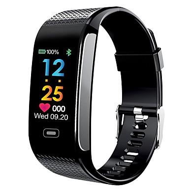חכמים שעונים YY-CK18s ל Android 4.4 / iOS מודד לחץ דם / כלוריות שנשרפו / מד צעדים / Anti-האבוד / בקרת APP Tracker דופק / מד צעדים / מד פעילות / מעקב שינה / תזכורת בישיבה / מצאו את המכשירשלי / 200-250