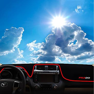 רכב לוח מחוונים שטיחים לפנים הרכב עבור Honda 2010 / 2011 / 2012 Prado