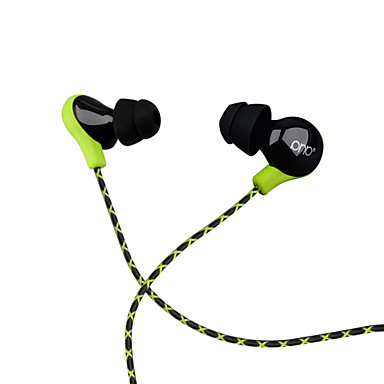 PHB P8 באוזן חוטי אוזניות דִינָמִי פלסטי אודיו Pro אֹזְנִיָה עם מיקרופון / עם בקרת עוצמת הקול אוזניות