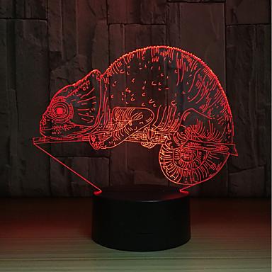 1set LED לילה אור מופעל באמצעות USB גע בחיישן