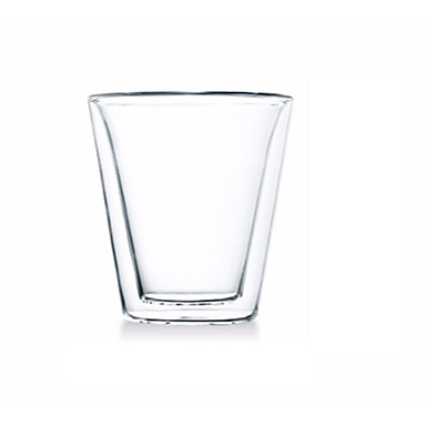 drinkware זכוכית בורון גבוהה זכוכית קיר כפול 1 pcs