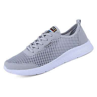 בגדי ריקוד גברים רשת סתיו נוחות נעלי אתלטיקה שחור / אפור / כחול / ריצה