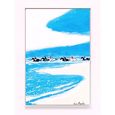 תמונת שמן ממוסגרת - טבע PVC ציור שמן