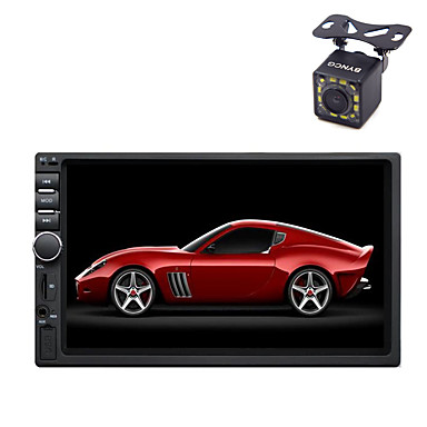 cheap Car DVD Players-BYNCG 7 inch Rear View Camera Machine 2 DIN Other OS Micro USB / MP3 / Built-in Bluetooth for universal Support / Touch Screen / Radio / AVI / Mp3 / JPEG