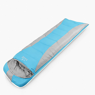 Saco de dormir Retangular 15°C Grossa 220X75 Acampar e Caminhar Viajar Solteiro (L150 cm x C200 cm)