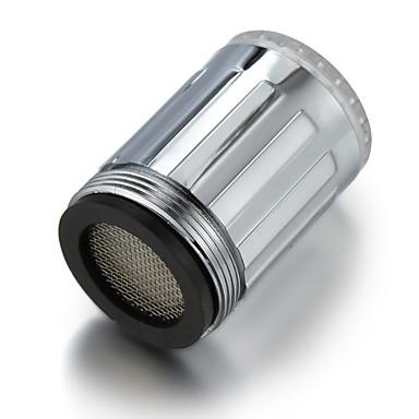 Vesivoimalla toimiva keittiön LED-hanavalo (muovi, kromiviimeistely)