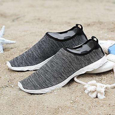 les tulle chaussures de femme de tulle les / pu (polyuréthane) printemps / été du confort des mocassins et glisser ons croûton blanc / noir 26b7e6