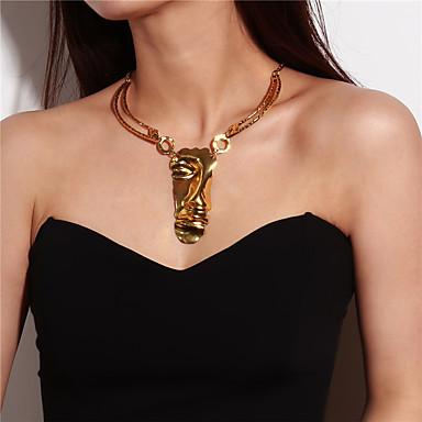 בגדי ריקוד נשים שרשראות מחרוזת / שרשראות תליון - זהב שרשראות עבור קרנבל, מועדונים