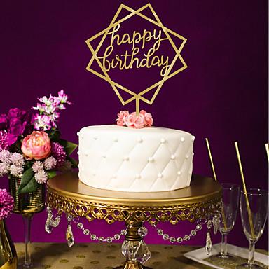 חתונה / יום הולדת אקרילי קישוטי חתונה נושא קלאסי כל העונות