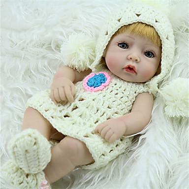 NPK DOLL בובה מחדש תינוק 12 אִינְטשׁ גוף מלא סיליקון / סיליקון / ויניל - כְּמוֹ בַּחַיִים, ריסים ידניים, ציפורניים אטומות וחותמות הילד של יוניסקס מתנות / CE / עור טבעי / ראש דיסקט