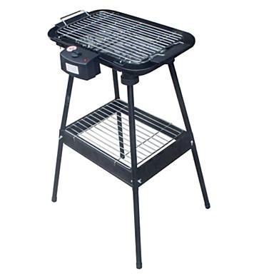גריל ברביקיו חשמלי רב שימושי פלדת אלחלד יפנית / סגסוגת אלומיניום מגנזיום תרמי Cookers 220 V מכשיר מטבח