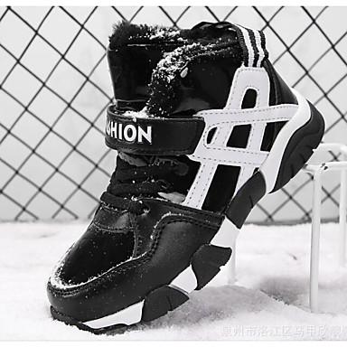 בנים נעליים דמוי עור אביב / סתיו נוחות / מגפי שלג מגפיים ל שחור / כחול / מגפונים\מגף קרסול