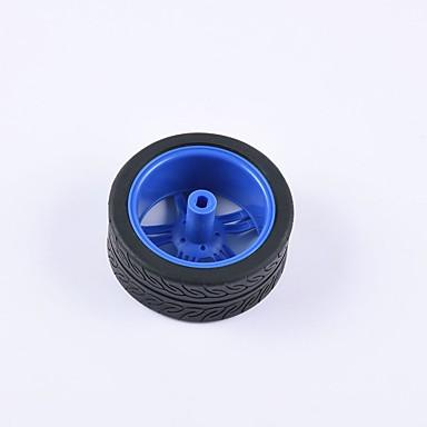 סרטן הממלכה ® די המכונית חינוכית חלקי רכב גלגל tt צמיג המנוע 1pcs שחור וכחול # 3