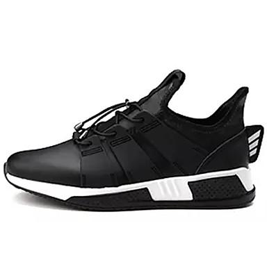 בגדי ריקוד גברים טול אביב / סתיו נוחות נעלי ספורט שחור / אפור / שחור לבן