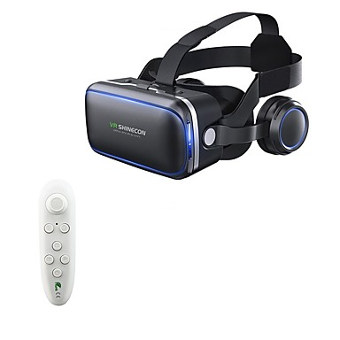 6.0 מציאותית מציאותית 120 fov 3d משקפיים עם אוזניות סטריאו תיבת עבור smartphone