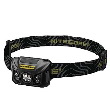ניטקור NU30 פנסי ראש LED 400lm ידני מצב תאורה עם קשרים / נייד / עמיד במים מחנאות / צעידות / טיולי מערות / שימוש יומיומי / ציד שחור / ירוק