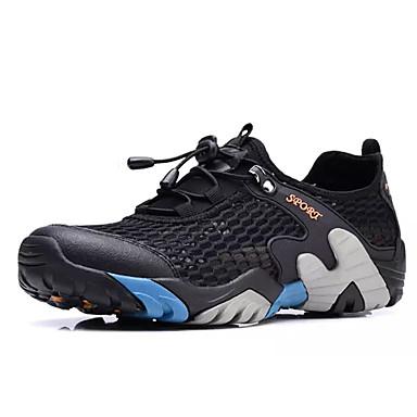 בגדי ריקוד גברים נעליים רשת אביב / סתיו נוחות נעלי אתלטיקה כחול / חום כהה / חאקי / טיפוס