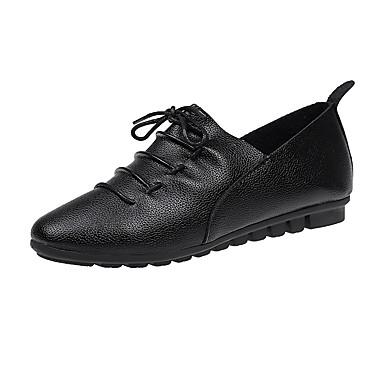 Women's PU(Polyurethane) Spring / Summer Comfort / Basic Pump Clogs & Mules Stiletto Heel Pointed Toe White / Black / Pink / Party & Evening