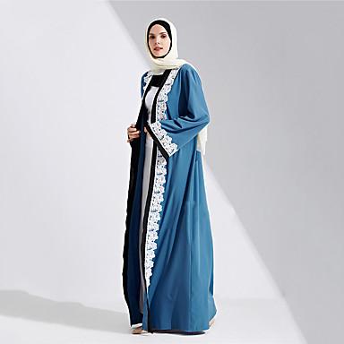 קוספליי השמלה הערבי בגדי ריקוד נשים פסטיבל / חג תחפושות ליל כל הקדושים כחול אחיד