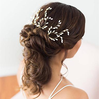 פנינה פין שיער עם פנינים 3 חתונה / מסיבה\אירוע ערב כיסוי ראש
