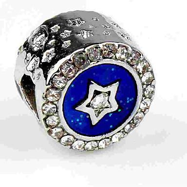 Gioielli Fai-da-te 1 Pezzi Perline Diamanti D'imitazione Lega Royal Blue Tonda Perlina 0.5 Cm Fai Da Te Collana Bracciali #06525683 I Cataloghi Saranno Inviati Su Richiesta