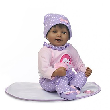 NPKCOLLECTION בובה מחדש תינוק 22 אִינְטשׁ ויניל - כְּמוֹ בַּחַיִים Cute עבודת יד בטוח לשימוש ילדים Non Toxic חמוד הילד של יוניסקס / בנות צעצועים מתנות / אינטראקציה בין הורים לילד / CE / עור טבעי