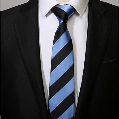 עניבת צווארון - פסים יום יומי בגדי ריקוד גברים