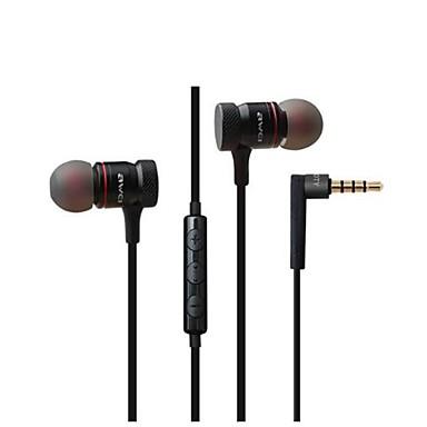 באוזן / אוזניות חוטי אוזניות דִינָמִי מעטפת מתכת טלפון נייד אֹזְנִיָה עם בקרת עוצמת הקול / עם מיקרופון / סטריאו אוזניות