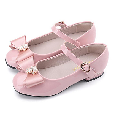 67ed5c0625da Girls  Shoes Patent Leather Spring Comfort   Flower Girl Shoes Flats for  Black   Blue   Pink