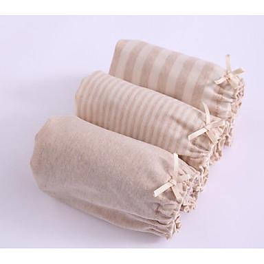 levne Dívčí prádlo a ponožky-Děti Dívčí Puntíky Proužky Bavlna Spodní prádlo a ponožky Světle hnědá