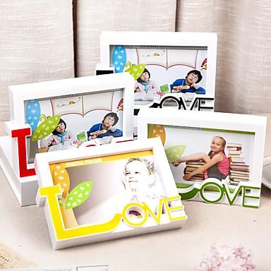 רומנטיקה פלסטיק / זכוכית מסגרות תמונה רומנטיקה 1 pcs כל העונות / לא מותאם אישית