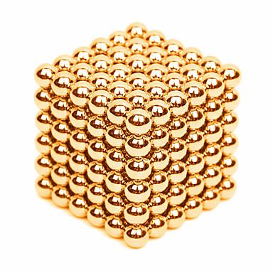 levne Magnetické hračky-216 pcs 3mm Magnetické hračky magnetické kuličky Stavební bloky Super Strong magnetů ze vzácných zemin Neodymové magnety Stres a úzkost Relief Office Desk Toys Udělej si sám Dětské / Dospělé Unisex