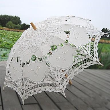 ידית עמוד חומר / עץ Party / מסיבה\אירוע ערב מטרייה בחתיכה אחת / אחרים / מטרייה / מטריית שמש 30.7