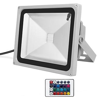 1pc 30 W תאורה שוטפת לד עמיד במים / Spottivalo / דקורטיבי RGB 85-265 V תאורת חוץ 1 LED חרוזים
