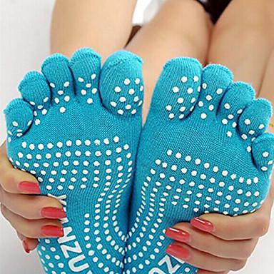Ioga Meias Respirável Anti-Derrapagem Elasticidade Alta Moda Esportiva Mulheres Ioga