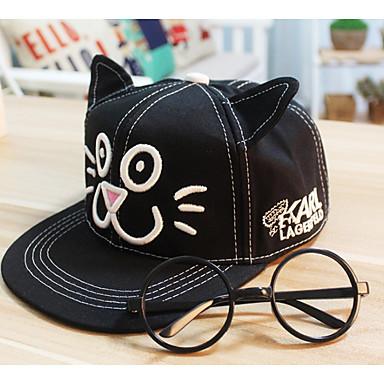 כובעים ומצחיות כותנה חיה חתול יומי ילדים