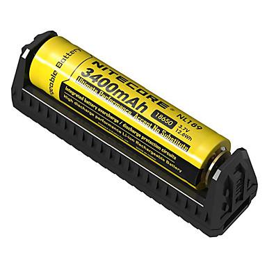 billige Lommelykter & campinglykter-Nitecore F1 Batterilader til Li-ion Beskyttet krets Pos. polaritetsvern Kortslutningsvern Overladingsvern 10440,14500,16340,17335,17500,17670,18490,18650,26650,RCR123