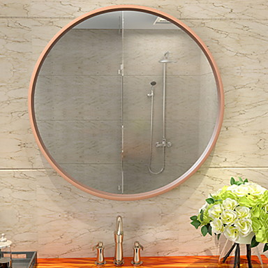 מראה עכשווי זכוכית משוריינת יחידה 1 - מראה אביזרי מקלחת / מראה מלוטשת