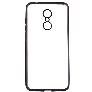 מגן עבור Xiaomi Redmi 5 ציפוי שקוף כיסוי אחורי צבע אחיד רך TPU ל Xiaomi Redmi 5
