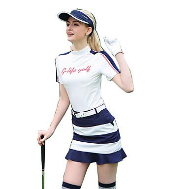 בגדי ריקוד נשים גולף ושמלות ייבוש מהיר עמיד לביש נשימה גולף פעילות חוץ