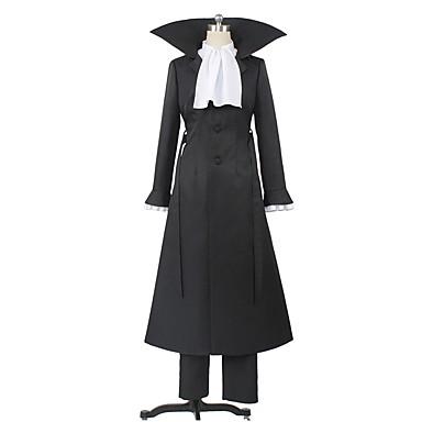 Zainspirowany przez Bungo Stray Dogs Cosplay Anime Kostiumy cosplay Garnitury cosplay Inne Długi rękaw Płaszcz / Bluzka / Spodnie Na Męskie / Damskie Kostiumy na Halloween