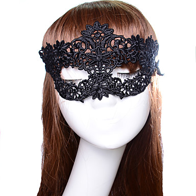 cheap Masks-Halloween Mask / Halloween Prop / Halloween Accessory New Design / Sexy Lady / Exquisite Classic Theme / Holiday / Fairytale Theme
