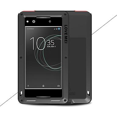 מגן עבור Sony Xperia XA1 Ultra Xperia XA1 מוגן מים / עפר / הלם כיסוי מלא צבע אחיד קשיח מתכת ל Sony Xperia XA1 Ultra Sony Xperia XA1