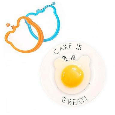 1 szt. Narzędzia kuchenne Silikon Kreatywne / Zrób to Sam Przybory do jajek Jajko / Akcesoria kuchenne / Kanapka