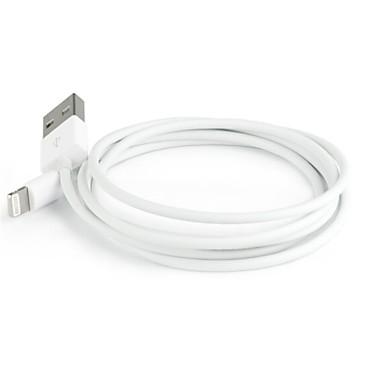 Oświetlenie Adapter kabla USB Przenośny / Szybka opłata Na iPhone 100 cm Na Tworzywa sztuczne / Polichlorek winylu